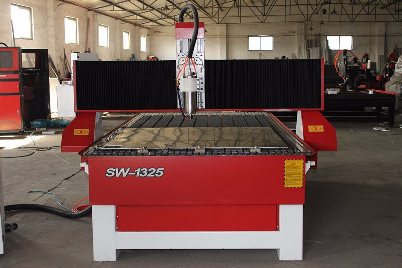 Cnc router woodworking engraving machine 1325 with dust proof