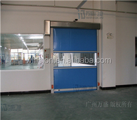 high speed autmatic rollup doors remote control roller shutter doors fit for industry garage KJM-526