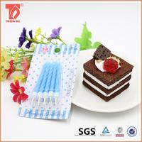 wholesale promotional products china birthday cake candles/animated birthday candles with different colors