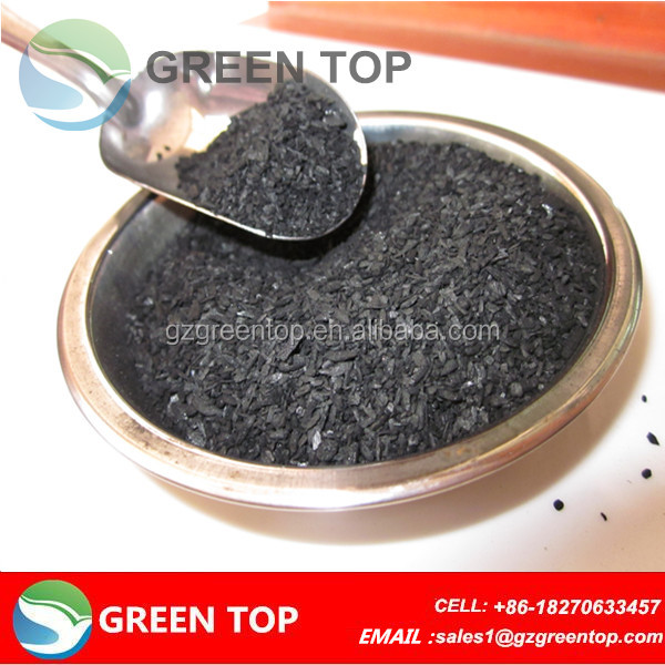 wood granular activated charcoal with MB 240mg/g for palm oil refining