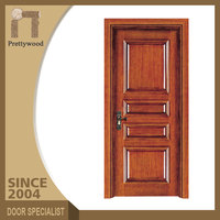 Classical Commercial Excutive Office Plain Exterior Solid Wood Doors