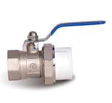 Factory Plastic PPR Ball Valve with Copper/Steel Ball PPR Pipe Fitting