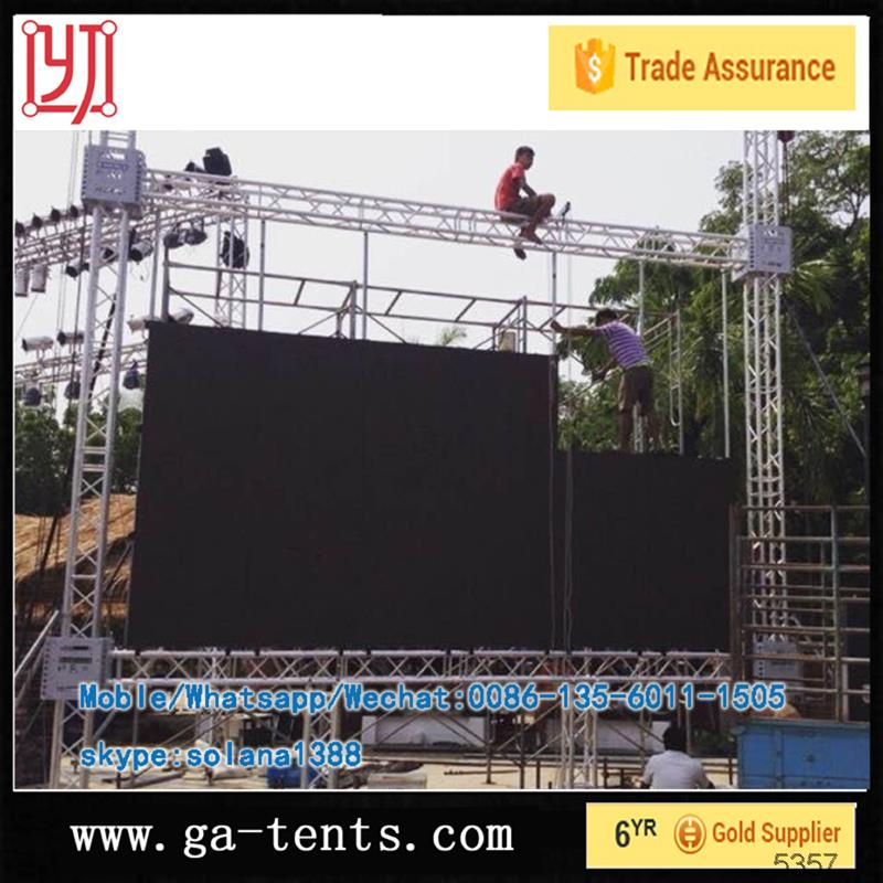 Aluminum truss clamp for lighting truss outdoor stage
