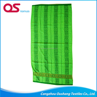 Gold Supplier China Knitted europe style beach/bath towel