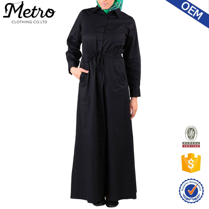 Maxi dress muslimah plus size, long sleeve maxi dress abaya 2016 New Arrival
