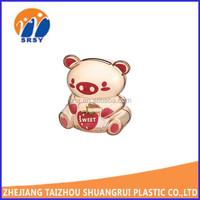 mini cheap plastic piggy bank clear coin bank/money saving box kids children use