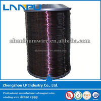 UL Certificate electrical resistance enamel aluminum wire for micro-motor