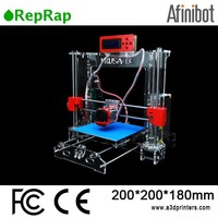 Order now! Free assembled tools & 2 rolls filament Afinibot 3d printers ready