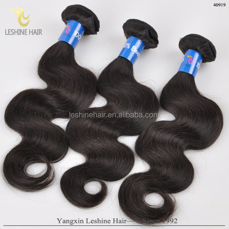 Large Stock Human Hair Extensions 20 inch virgin remy brazilian hair weft