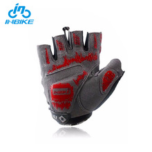 INBIKE Professional Cycling Gloves Mens Women's Sponge Pad Half Finger Gloves Bike Bicycle Cycle Non-Slip Breathable Gloves