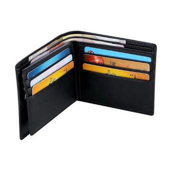 Business PU men wallet leather