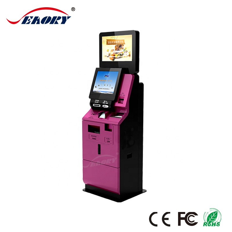 Payment Kiosk With Card Dispenser