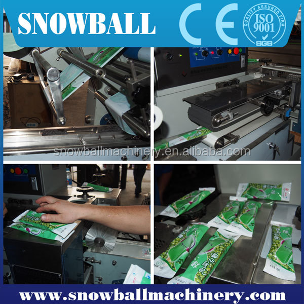 CE,SGS,UL,ETL approved Customized Automatic 6-18 wide Ice Cream stick Packing System/Packing equipment