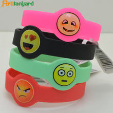 Personalisable Friendship Sport Custom Bangles Smart Silicon Bracelet