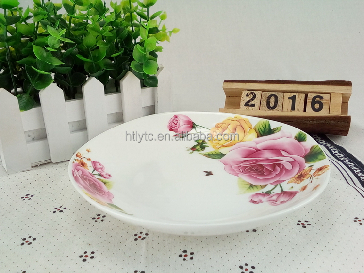 Most popular excellent quality cake ceramic plate