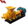Lignite coal extruder machine, hollow shape coal rod machine