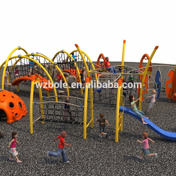 new design playground big games play equipment for kids