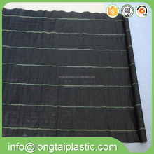 china factory supply black PP weed mat plastic ground cover for tree and flower
