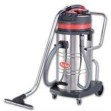 80L stainless steel wet and dry vacuum cleaner (tilt)