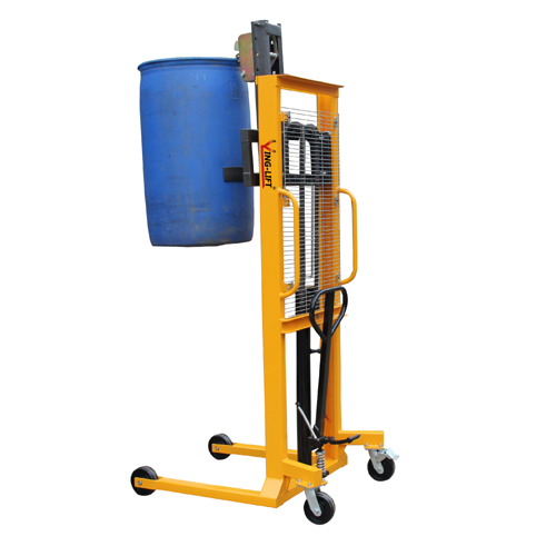 Manual Hydraulic Drum Lifting Stacker with 1500mm Lifting height DT400A
