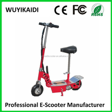 24V 250W Foldable 2 wheel E-scooter/electric zappy stand up scooter with light CE certification