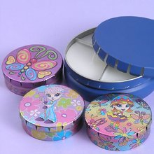 Round Candle Tin Box Hotsale