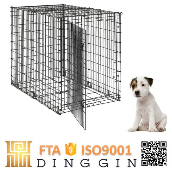 Luxury different size folding dog crate