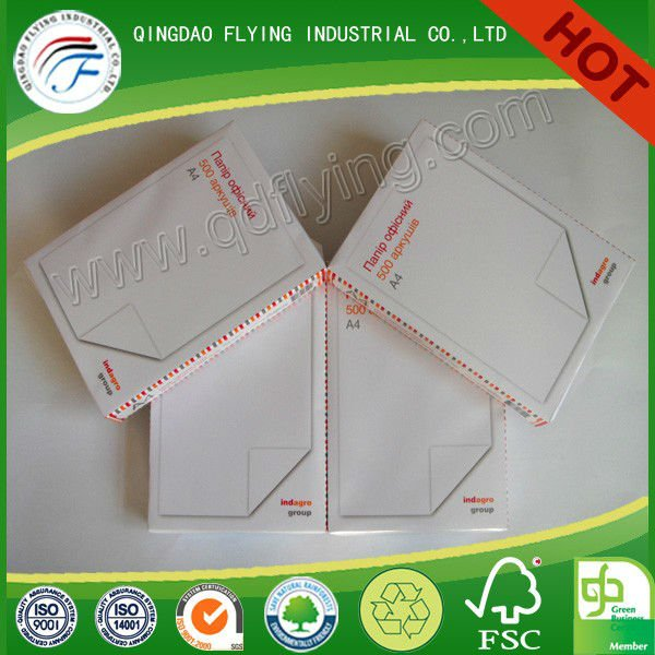 Export to Russia Pure White a4 80g Photocopy Paper