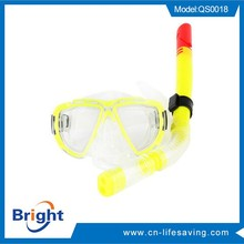 Professional diving mask and snorkel set for wholesales