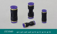 Straight Connector Air Pneumatic Fluid Water Hydraulic Quality Push In Fitting