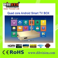 android smart tv box/quad core google android 4.4 tv box