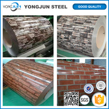 corrugated / roofing tile color coated galvanized coil / plate / sheet PPGI