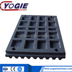 High Manganese Jaw Crusher Tooth Plate