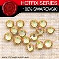 Dress Design Swarovski Elements Luminous Green (LUMG) 16ss Flat Back Crystal Stone