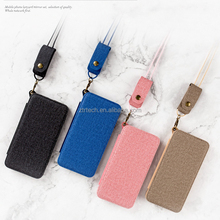 Multifunctional Lady Leather makeup Tpu soft case Cover For iPhone 7plus 7 Bracket Car holder Magnet Adsorption leather case