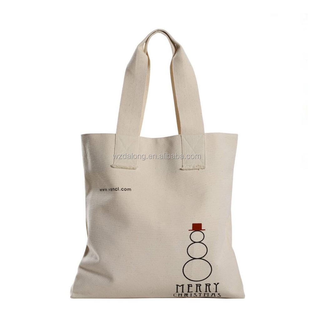 Large Canvas Value Messenger Tote Bags