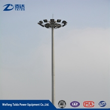 Good Quality China Market Sports Stadium Hot Dip Galvanized Light Pole