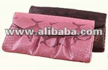 Women's Purse Shoulder Clutch Bag PU Leather Snakeskin