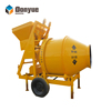 JZC350 series jzr500h diesel concrete mixer with lift