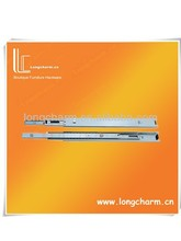 45mm three section office desk drawer slides from drawer slide rail manufacturer