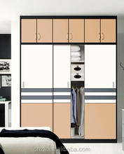 Modern wooden sliding wardrobe latest bedroom furniture design (customized)