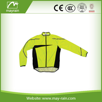 Mens 100% polyester lightweight packable waterproof rain jacket