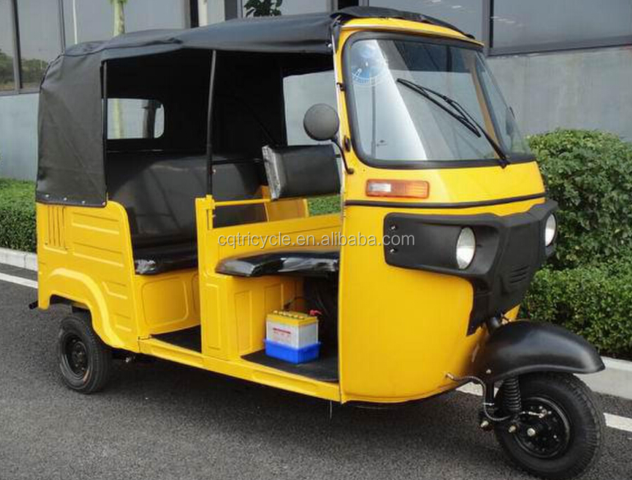 2015 promotional price enclosed green motor tricycle