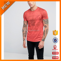 OEM service polyester mix cotton quick dry men's t shirt /custom t shirt with digital printing wholesale H-2225