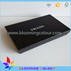 Black Cardboard Paper Packaging Box For