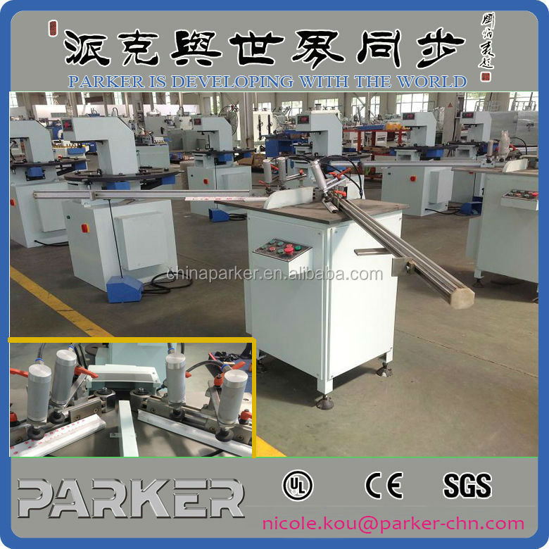 Aluminum /PVC Profile Glazing Bead Saw Cutting Machine