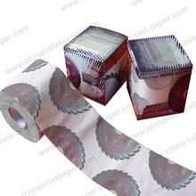 Novelty roll paper/funny toilet roll/colorful roll paper