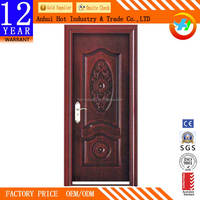 Hot Sale Wholesale exterior french door Security Design High Quality Contemporary Exterior Door