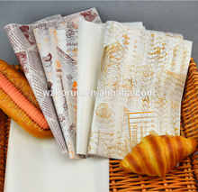 Good quality sandwich wax tissue paper wrapping for food