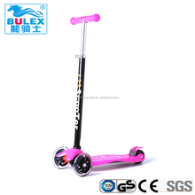 Factory direct supply kids three wheel kick scooter